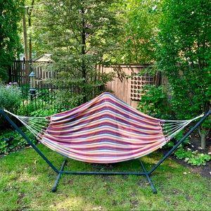 NWT Woven Multicolored Hammock